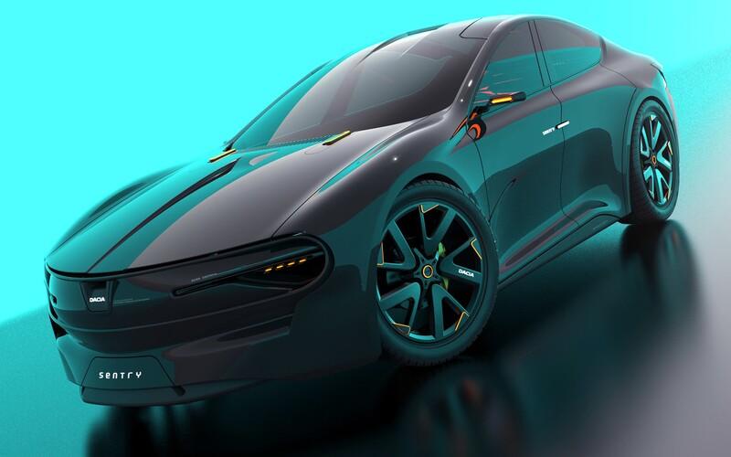 Rumunská Tesla? Vízia Elektrickej Dacie Sentry odkazuje na slávnu minulosť.
