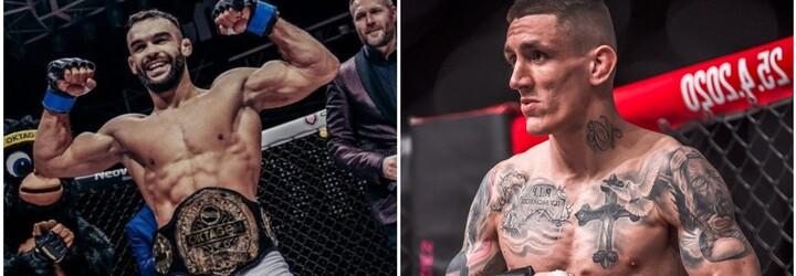 """Zakázané látky? Šampion Oktagonu MMA Buchinger se opřel do svého soupeře. """"Je to ubohé,"""" reaguje Barborík"""