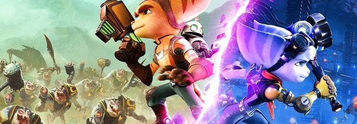 Ratchet & Clank: Rift Apart je nejkrásnější hra na PS5. Čeká tě cestování mezi světy bez načítání a oku lahodící grafika