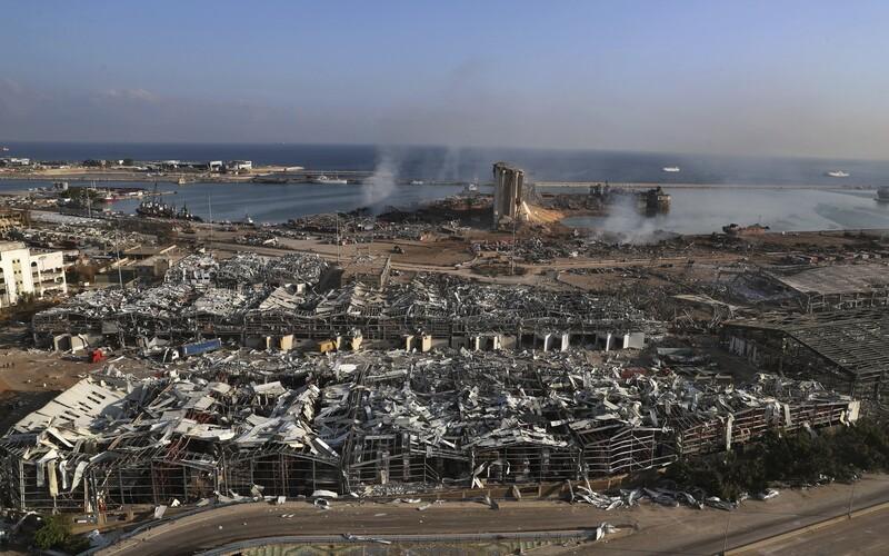 Češi pomohou Bejrútu. Vyšlou speciální tým na vyprošťování osob.