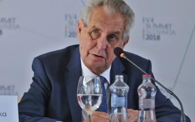 Policie začala vyšetřovat okolí Miloše Zemana. Prověřuje padělání podpisu či neposkytnutí pomoc.