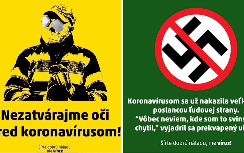 Ružinov svojimi grafikami na propagáciu testovania konkuruje aj najlepším slovenským meme stránkam.
