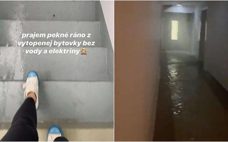 V bratislavskom bytovom komplexe bojujú obyvatelia s potopou. Hrôzostrašné zábery zdieľala aj youtuberka Moma.