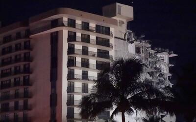 VIDEO: V Miami sa zrútila výšková budova. Potvrdili tri obete, takmer sto ľudí je nezvestných.