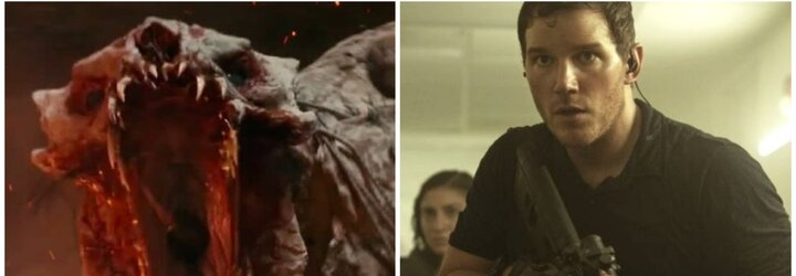 Chris Pratt likviduje mimozemšťanov z budúcnosti. Ako si jeho postava učiteľa poradí so sci-fi zbraňami?