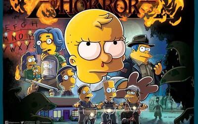 Simpsonovci ožijú vo svete Stranger Things. Líza si bude robiť srandu z Eleven