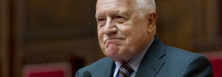 Václav Klaus zatím zůstává v nemocnici, potvrdil mluvčí institutu