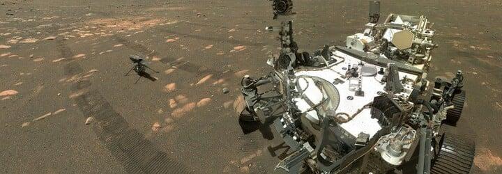Ďalšia historická chvíľa: NASA na Marse úspešne vzlietla aj pristála s mini helikoptérou Ingenuity