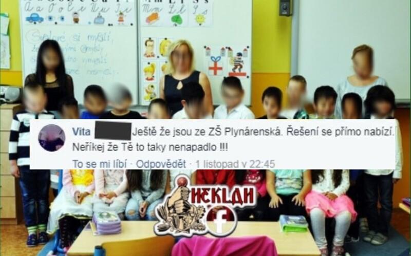 Komentující, který se nenávistně vyjadřoval k fotce prvňáčků v Teplicích, dostal podmínku.