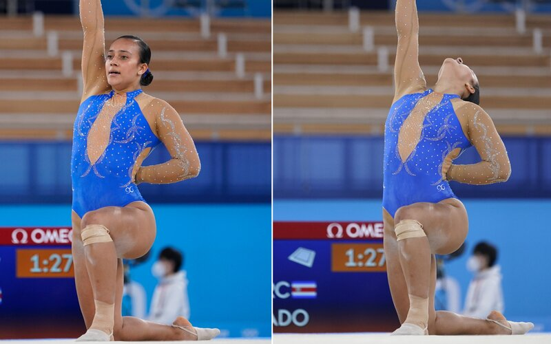 Gymnastka podporila počas vystúpenia na olympiáde Black Lives Matter. Chce, aby mali všetci ľudia rovnaké práva.