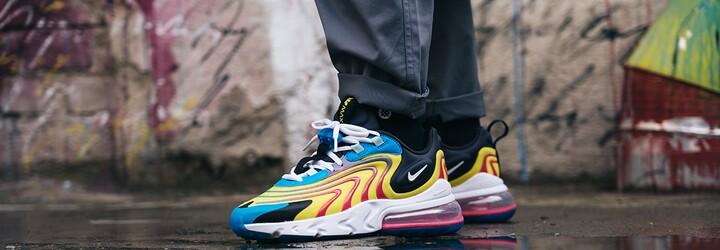 Silueta Air Max 270 od Nike je ztělesněním ideální obuvi na každodenní nošení