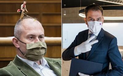"""Matovič kritizuje extrémistickú ĽSNS. """"Kotleby"""" huckajú na 6-hodinovú blokádu."""