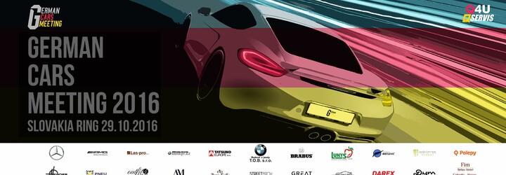 Jedinečné stretnutie priaznivcov nemeckých áut klope na dvere. Čo sľubuje tohtoročný German Cars Meeting?