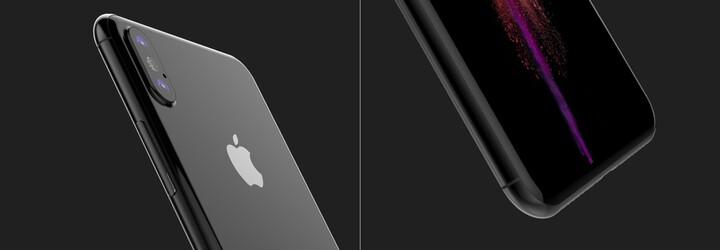 Na internet prý unikl finální design iPhonu 8. OLED displej by měl pokrývat téměř celou přední stranu