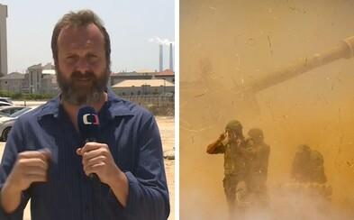 Jako novinář jsem nemohl začít hystericky ječet a běžet do krytu, komentuje reportér David Borek boje v Izraeli (Rozhovor)