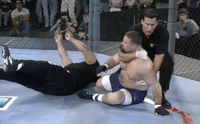 Brutální začátky UFC: Šílené knockouty, obrovské váhové rozdíly a takřka žádná pravidla