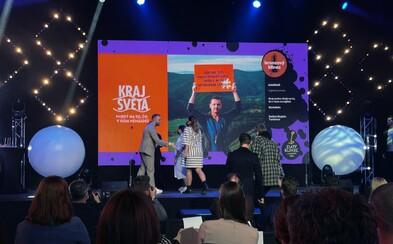 Kampaň Kraj sveta súperila s veľkými komerčnými značkami a premenila 5 shortlistov na 4 ocenenia