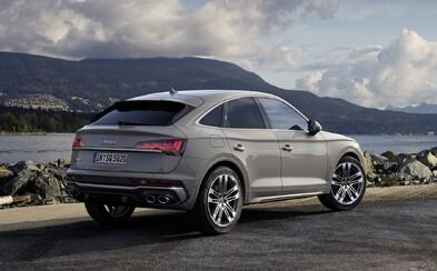 Úplne nové Audi SQ5 Sportback je štýlové SUV-kupé s 341-koňovým šesťvalcom