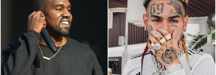 Kanye West přiznal, že cení 6ix9ine. Jsou prý stejní a spojuje je kontroverze