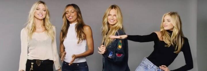 Sexy andílci Victoria's Secret to rozjeli na pecku The Weeknda