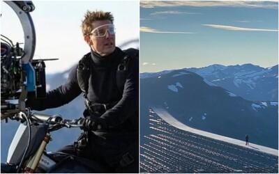 Tom Cruise natočil pro Mission: Impossible 7 nejnebezpečnější kaskadérský kousek svého života.