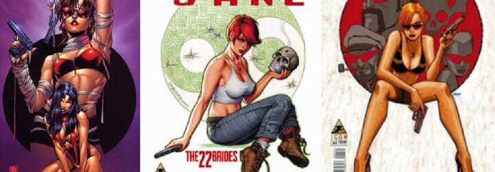 Smrteľne nebezpečná sexi zrzka Painkiller Jane mieri do kín. Hlavnú úlohu si zahrá Jessica Chastain