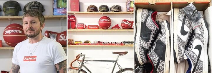 Ross sbírá přes 20 let Supreme. Doma má více než 1000 kousků a teď se všechno rozhodl prodat