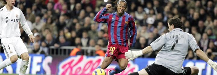 Ronaldinho – vysmátý kouzelník s míčem, kterému zatleskali vestoje i fanoušci Realu Madrid
