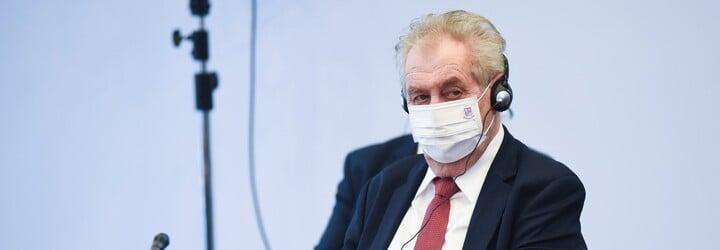 Zeman: Putin mi slíbil dodávku vakcíny Sputnik