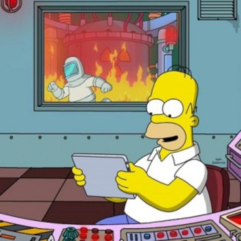V akom sektore pracuje Homer v jadrovej elektrárni?