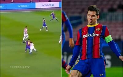 VIDEO: Messi dostal červenú kartu, hráča Athletica zvalil na zem fackou ako z MMA.