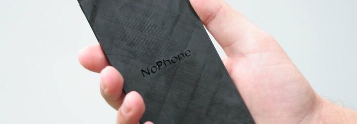 Jsi závislý na svém smartphonu a nedokážeš ho pustit z ruky? Vyléčí tě NoPhone, mobil, který nemá žádné funkce