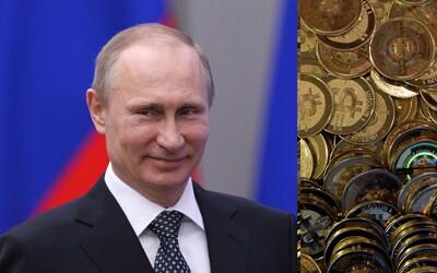 Putin toleruje kryptomeny ako platidlo. Pri obchodovaní s ropou by ich však nepoužil