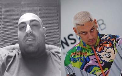 Raper Tlstý tvrdí, že na něj Separ poslal dvě auta plná boxerů. Jsou to výmysly, odpovídá člen DMS.