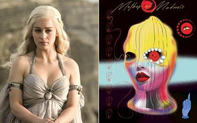 Menstruace aktivuje její superschopnosti a padouchy mlátí ňadry. Emilia Clarke napsala bláznivý komiks.