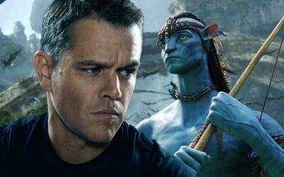Matt Damon odmietol ponuku hrať v Avatarovi. Stálo ho to okolo 250 miliónov dolárov