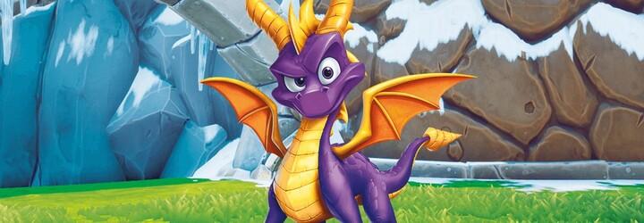 Milovaný dráček Spyro se vrací na nové konzole v celé původní trilogii! Užijte si první trailer plný nostalgie