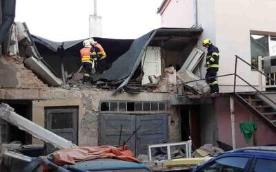 Výbuch plynu v Litovli: Jeden člověk utrpěl popáleniny po celém těle, musel být uveden na plicní ventilaci.