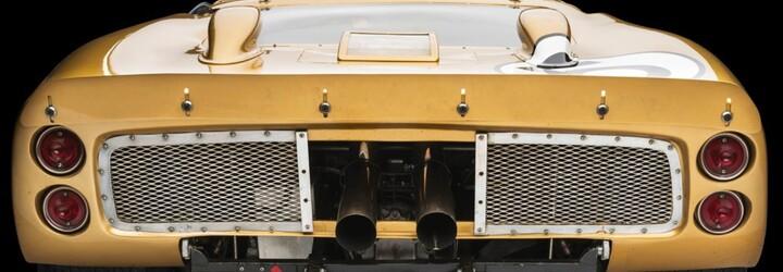 Legendární zlatý Ford GT40 z roku 1960 bude dostupný za 10 milionů dolarů