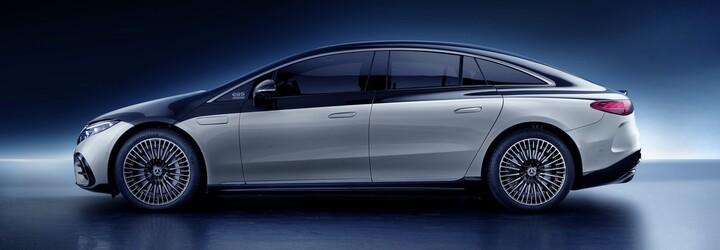 Nové EQS je prvou elektrickou limuzínou na svete. Mercedes-Benz uvádza dojazd až 770 km