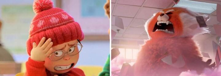 Mladá dívka se v nové pixarovce promění na obrovskou pandu vždy, když je ve velkém stresu
