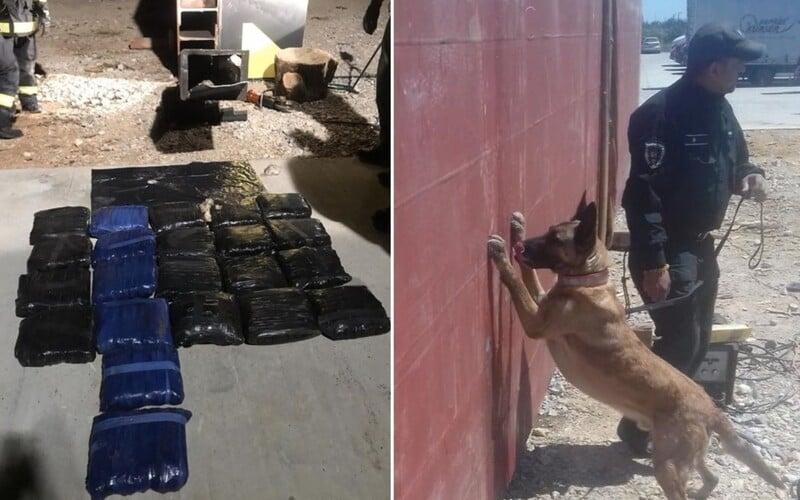 Pervitín za 2 000 000 000 €. Slovenskí policajti zadržali rekordnú dodávku z Mexika.