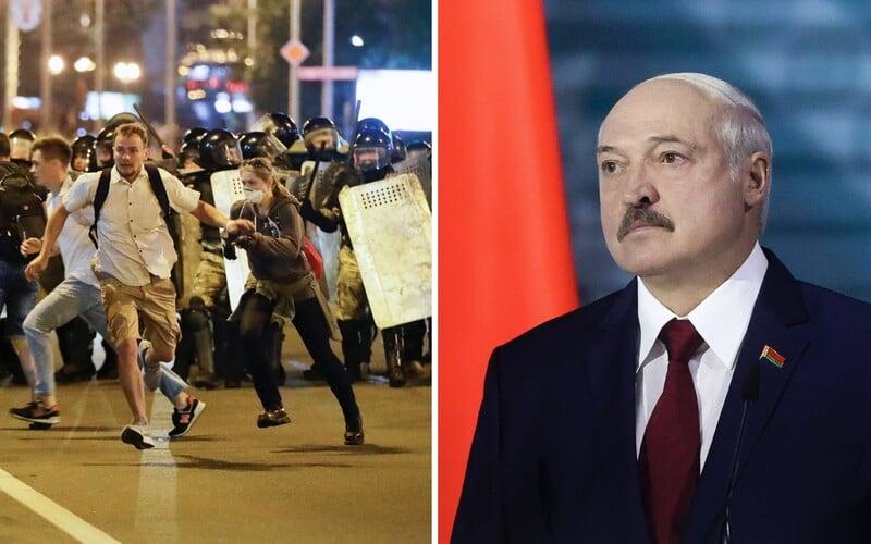 V Bělorusku pokračují protesty, policie mlátí demonstranty. Nedopustím žádný Majdan, vzkazuje diktátor Lukašenko.