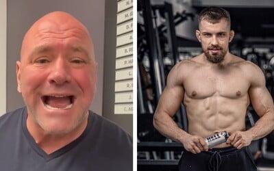 Šéf UFC zve na zápas Slováka Ľudovíta Kleina: Je to hladový nováček, který přišel bojovat.