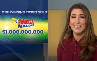 Štastný výherca získal v lotérii 1,05 miliardy dolárov. Podací lístok ho pritom stál iba 2 doláre.