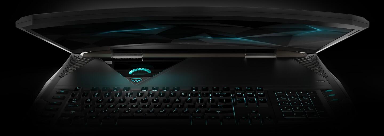 Acer predstavil šialený herný laptop so zahnutým displejom a dvojicou grafických kariet GTX 1080