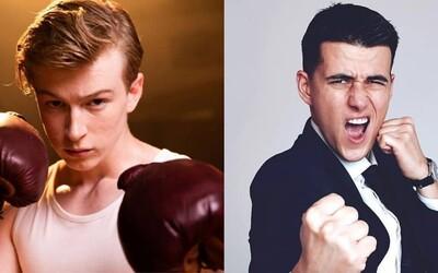Adam Mišík se utká v boxerském zápase proti Jakubu Kotkovi