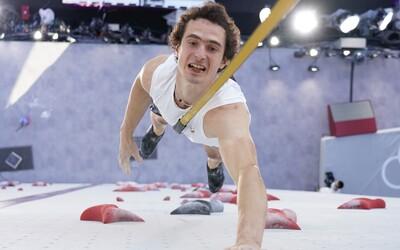Adam Ondra po dramatickém finále sportovního lezení nakonec medaili nezískal