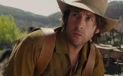 Adam Sandler sa zvezie na sláve Hateful Eight parodovaním western žánru