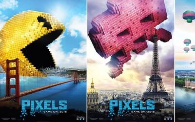 Adam Sandler verzus Pacman si to rozdajú v uliciach San Francisca v akčnej komédii Pixels